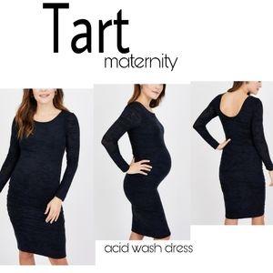 Tart maternity acid wash dress.  Sz xs